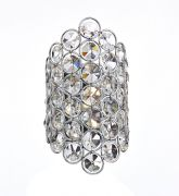 Frost Wall Light in Polished Chrome and Crystal - där FRO0750